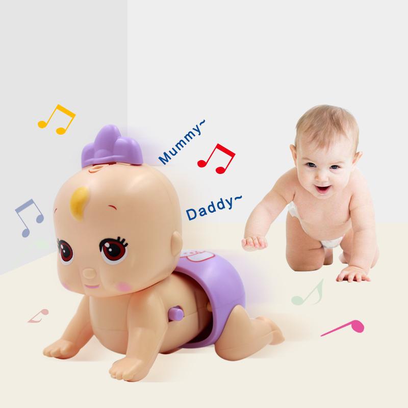 Ребенок ребенок головоломка ползучий школа подъем игрушка может спойте песню гулять твист осел электрический подъем ребенок 6-12 месяцы ребенок