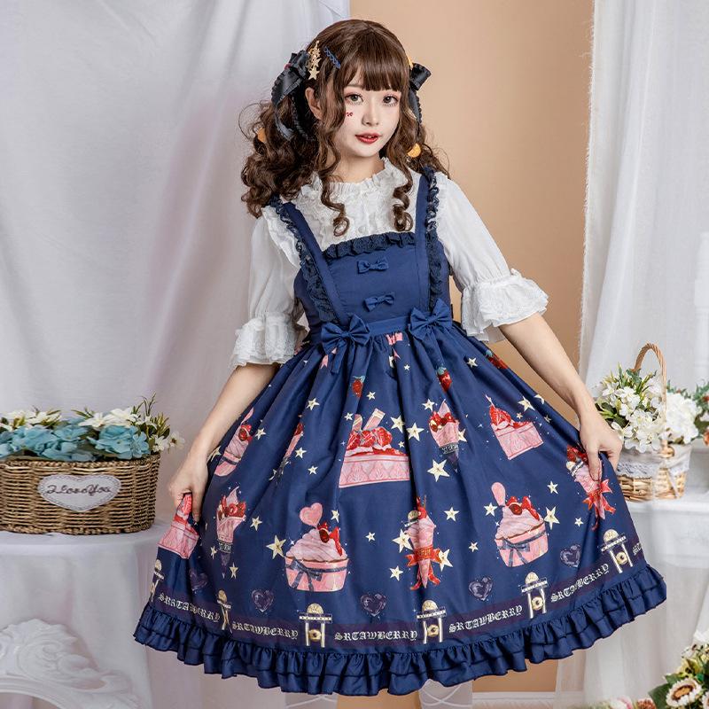【限定温柔】原创正品现货草莓连衣裙