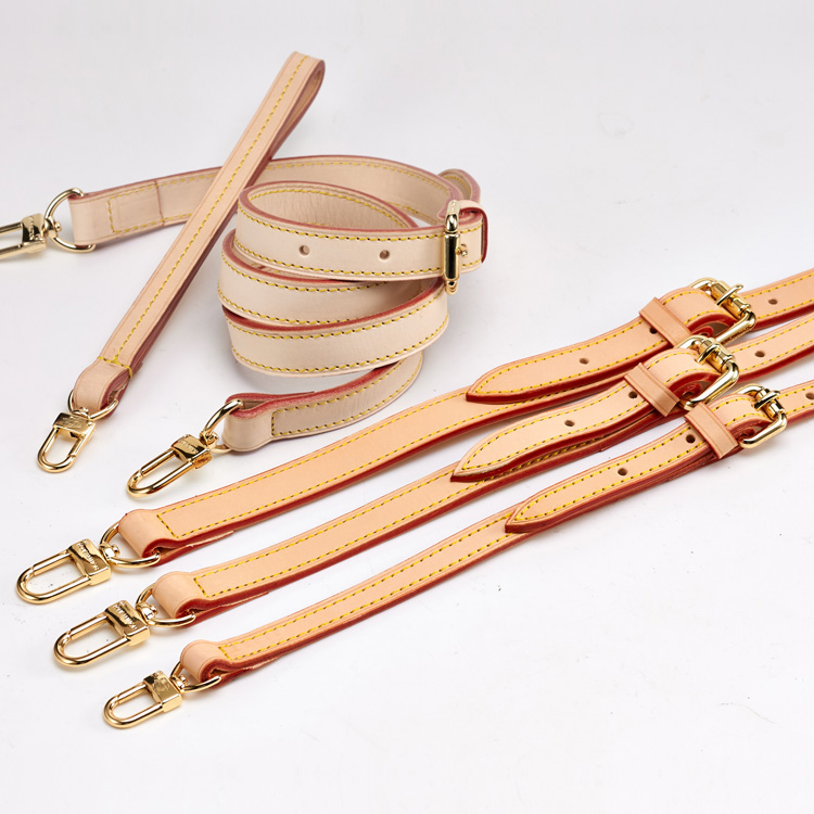 With shoulder strap, bag strap, replacement strap, womens bag accessory strap, color changing vegetable tanning leather diagonal strap