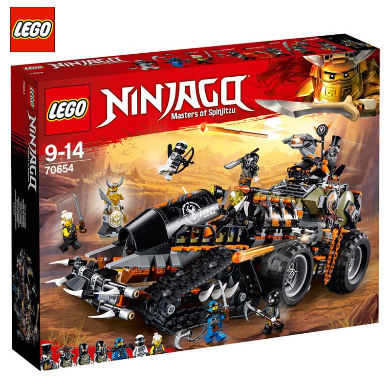 LEGO乐高70654 幻影忍者系列 重型捕龙卡车 男孩拼装积木玩具满1099.00元可用220元优惠券