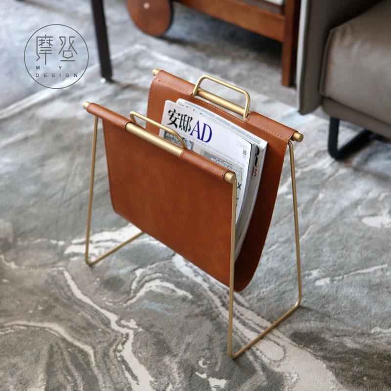 摩登 北欧现代简约创意书报架书架报刊架置物架桌面家居收纳架