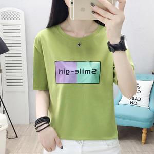 半袖洋气女设计感韩版2021年t恤