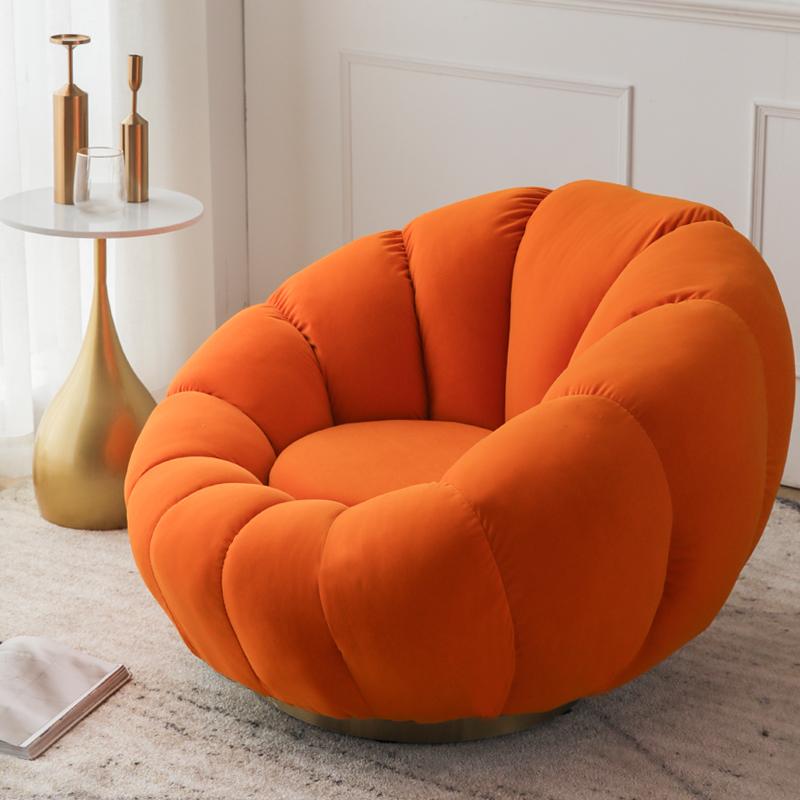 单人懒人南瓜卧室小型可爱小沙发
