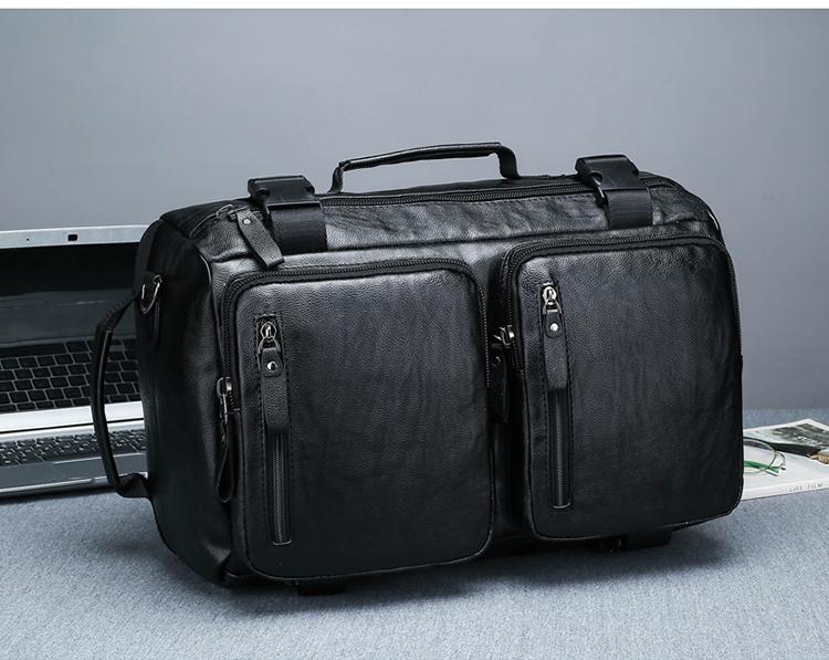 多機能リュックサック3つのリュックサックを斜めに跨り、携帯旅行で登山バッグを外注しています。