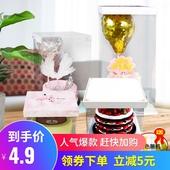 透明生日蛋糕盒子包装盒 四寸4寸六6寸八寸8寸10寸双层加高一次性
