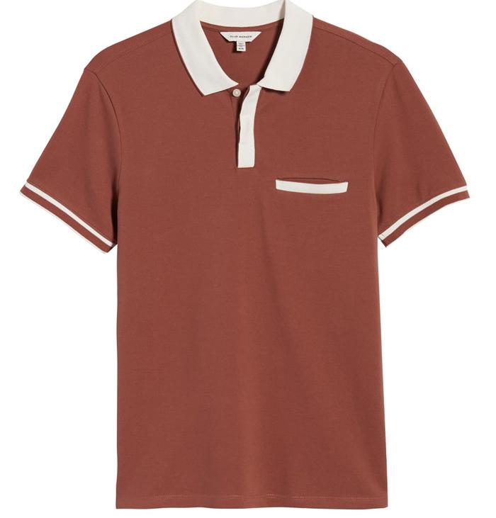 Club Monaco summer new mens cotton top short sleeve polo shirt t-shirt t-shirt mens Polo Shirt