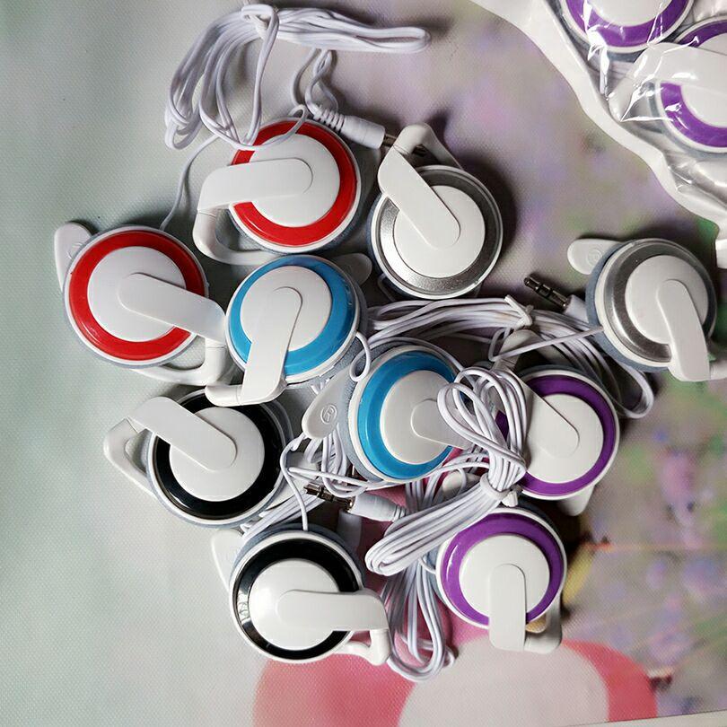 迷你Q50挂耳式耳麦MP3mp4线控通用3.5mm头戴式重低音炮耳机耳塞式
