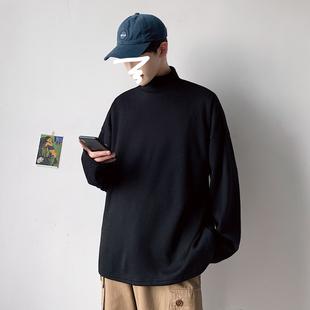 小半高领男2019新款秋冬季韩版毛衣