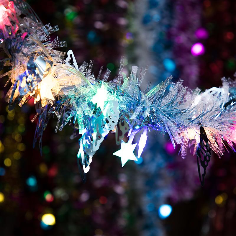 结婚婚庆彩带拉花婚礼婚房布置毛条新年年会元旦生日圣诞装饰彩条