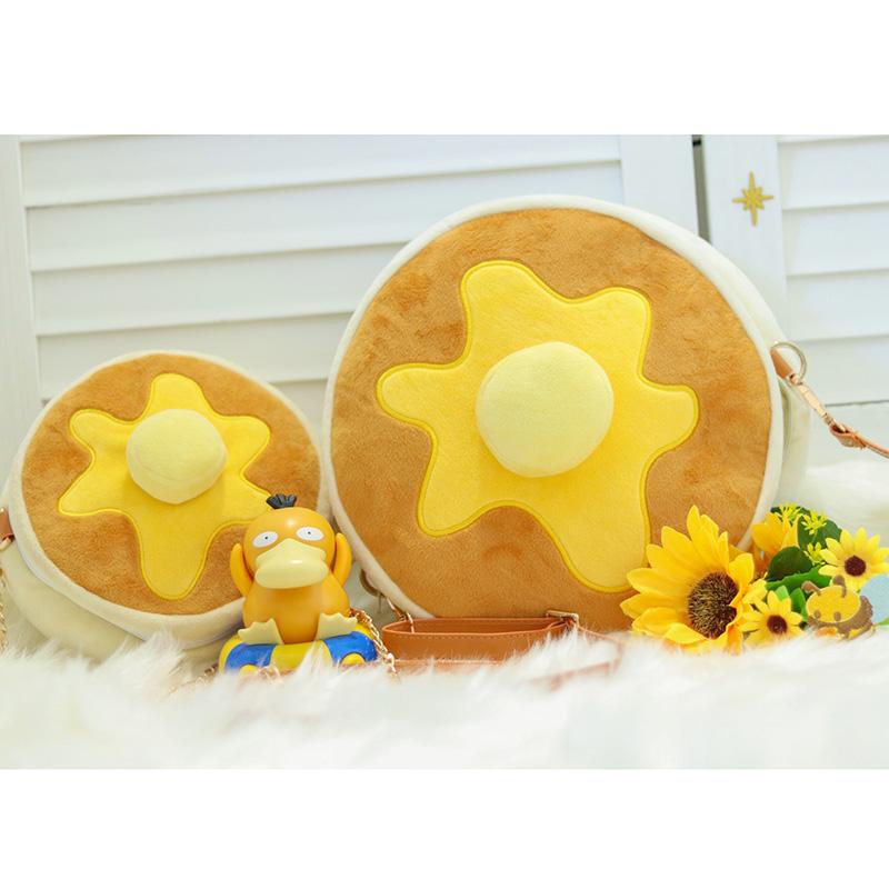 SpicyDonuts松饼包 现货包邮 可爱毛绒包小圆包原创设计甜点