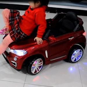快乐达儿童电动车四轮童车小孩遥控摇摆充电宝宝汽车玩具车可坐人