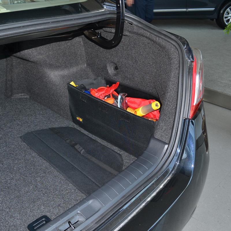 東風日產08~16款新世代天籟改裝 後備箱儲物箱整理收納置物袋