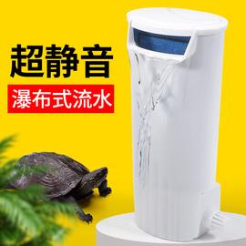 乌龟缸过滤器龟缸吸粪便免换水内置底滤龟箱水循环低水位静音净水图片