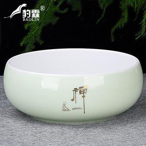 茶洗大号特大笔洗水盂水洗茶碗陶瓷功夫茶具配件茶道零配家用茶盘