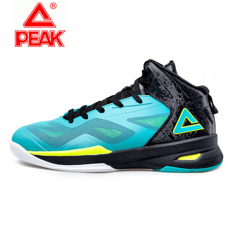 Peak basketball shoes spring speed hawk second generation high top actual combat boots breathable shock absorption shoes mens shoes