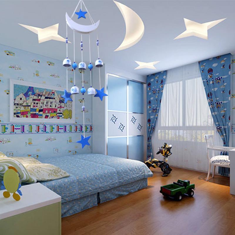 教师节日式风铃挂饰门铃星月风铃创意男女卧室寝室儿童房铃铛礼物