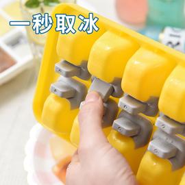 硅胶制冰盒带盖自制冰格食用冰球大小家用速冻器冰箱做冻冰块模具
