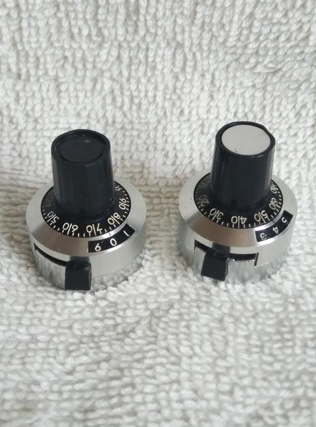 日本科宝 多圈电位器旋钮帽 CA-10 内孔6MM(一对)