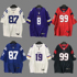 Trendy brand hip-hop T-shirt jerseys for men and women in the long section of embroidery rugby clothes hip-hop casual loose plus size men and women