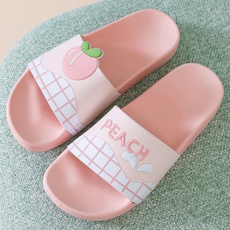 家用拖鞋可爱防滑夏天室内洗澡厚底韩版ins拖鞋女夏季外穿凉拖鞋
