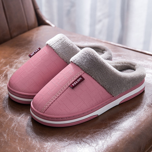毛毛拖鞋女秋冬季棉拖鞋女士室内家用2021新款厚底包头包跟外穿天