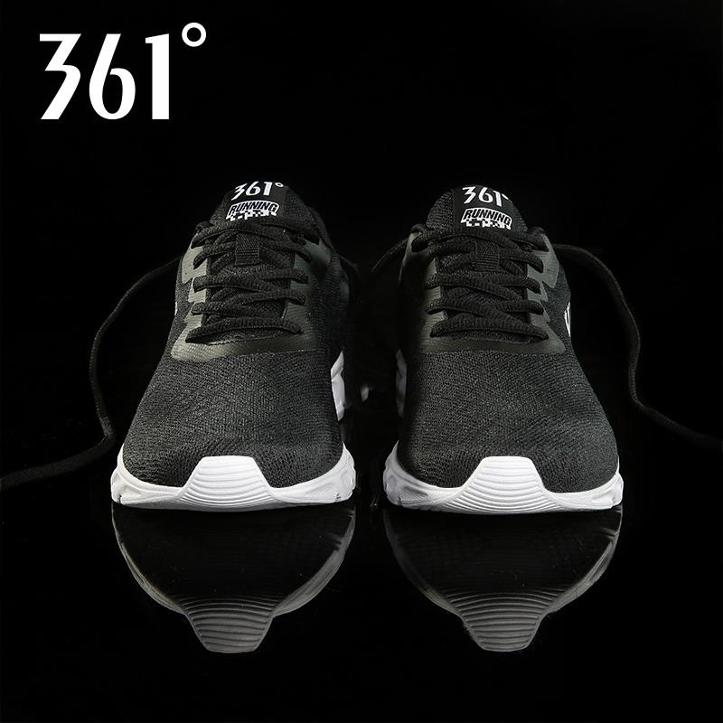 361男鞋女鞋运动鞋男秋冬季网面透气361度气垫皮面跑步鞋女休闲鞋 thumbnail