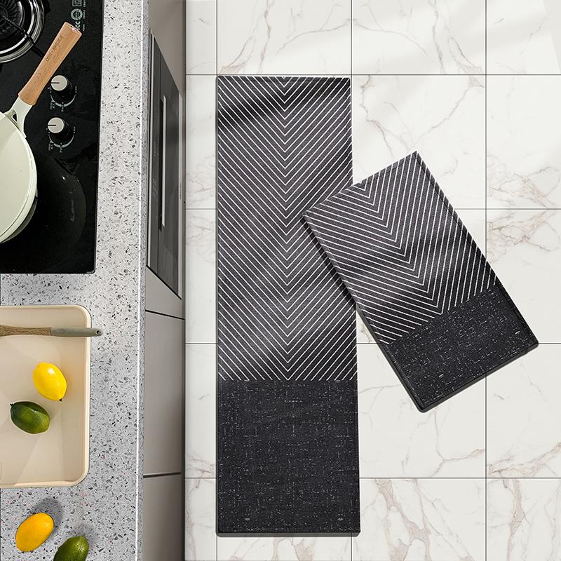 现代厨房防滑防油家用卧室子地垫评价如何