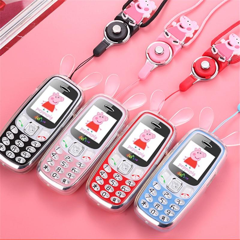 移动电信版小学生手机可爱卡通迷你袖珍男女孩直板正品4G儿童手机