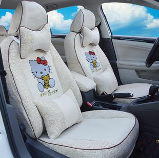 長城歐拉R1座椅套歐拉黑貓汽車座套可愛卡通女神款坐墊四季全包圍