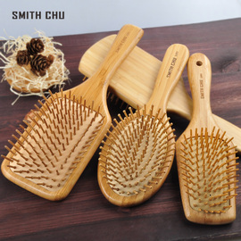 家用女气囊宽齿梳气垫梳头部按摩梳美发造型长发卷发梳大板木梳子图片