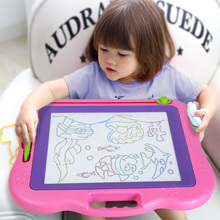 Children's drawing board magnetic writing board baby toys 1-3 years old 2 children color super large graffiti board