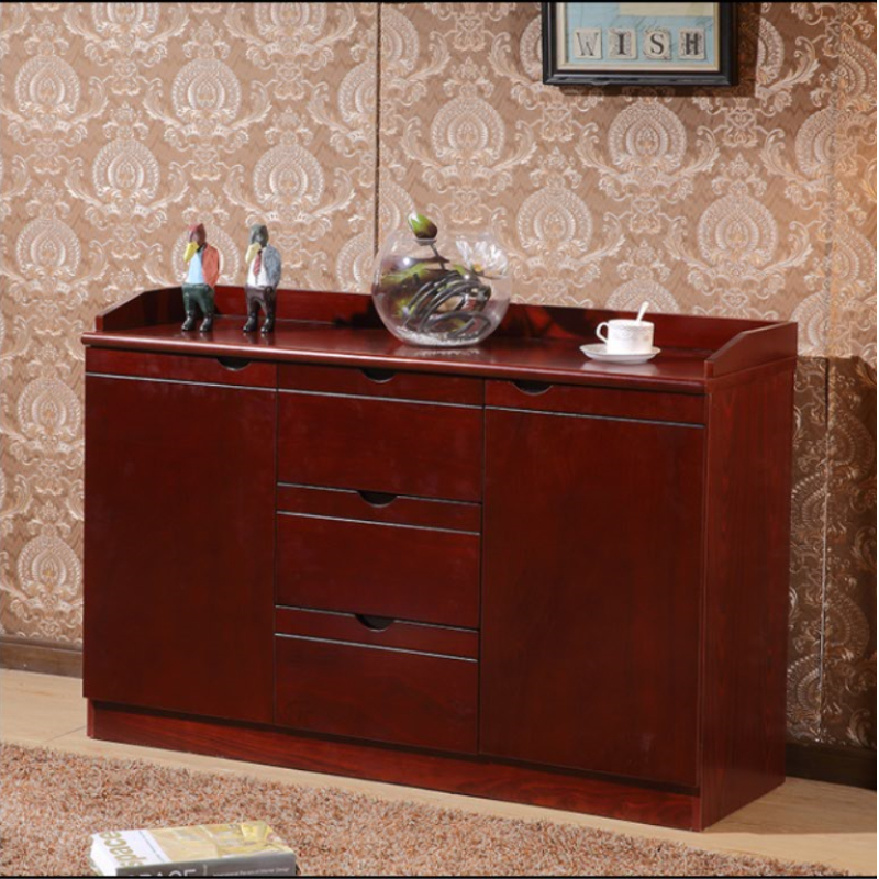 New style other Shanghai conference room hotel dining side cabinet preparation cabinet wine cabinet modern simple tea room cabinet