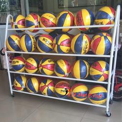 篮球收纳架 幼儿园球类架子儿童足球架装篮球框置球架放球的架子