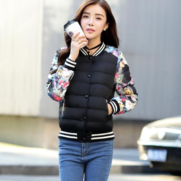 2015 зимнего сезона распродажа скидки Корейский шифон детские пальто женщин тонкие короткие толстого хлопка пальто