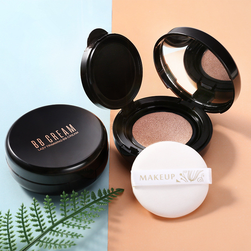 Han Zhao Air Cushion BB Cream Moisturizing, Water Supplementing, Isolating and Defect Concealing CC Bar Foundation for Male and Female Students