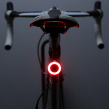 Bicycle tail lamp USB charging mountain lamp night riding high brightness creative tail lamp equipment accessories