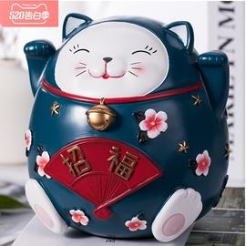 大容量存钱罐不可取招财猫创意零钱罐成人儿童防摔储蓄罐只进不出图片