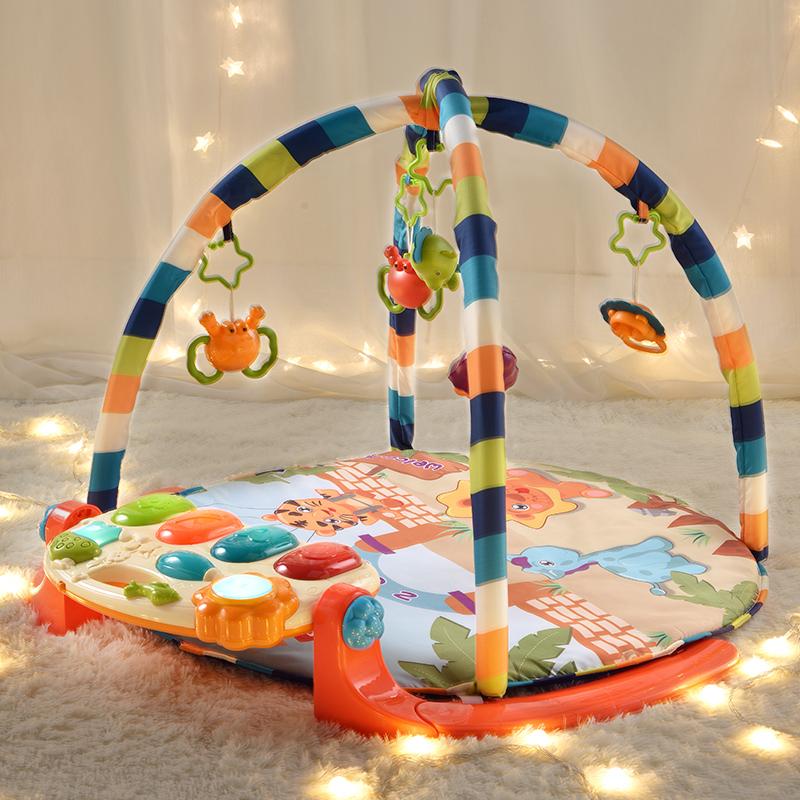 婴儿器脚踏钢琴6儿童玩具2健身架