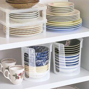 日本原装进口厨房收纳置物架盘子碟碗架碗托沥水架碗柜餐具收纳盒