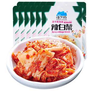 淳于府韩国辣白菜100g*10袋装酸辣韩式泡菜腌制咸菜小菜下饭菜