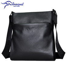 Canono kangaroo men's bag shoulder bag men's bag leather messenger bag leather vertical business and leisure backpack