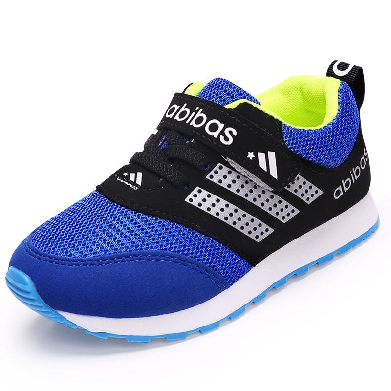 童鞋男童鞋跑步鞋女童鞋網鞋子寶寶網麵透氣春秋小中大兒童 鞋