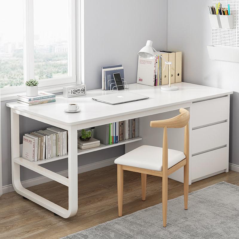 书桌电脑台式桌简约家用学生经济型写字台卧室写字桌办公室桌子