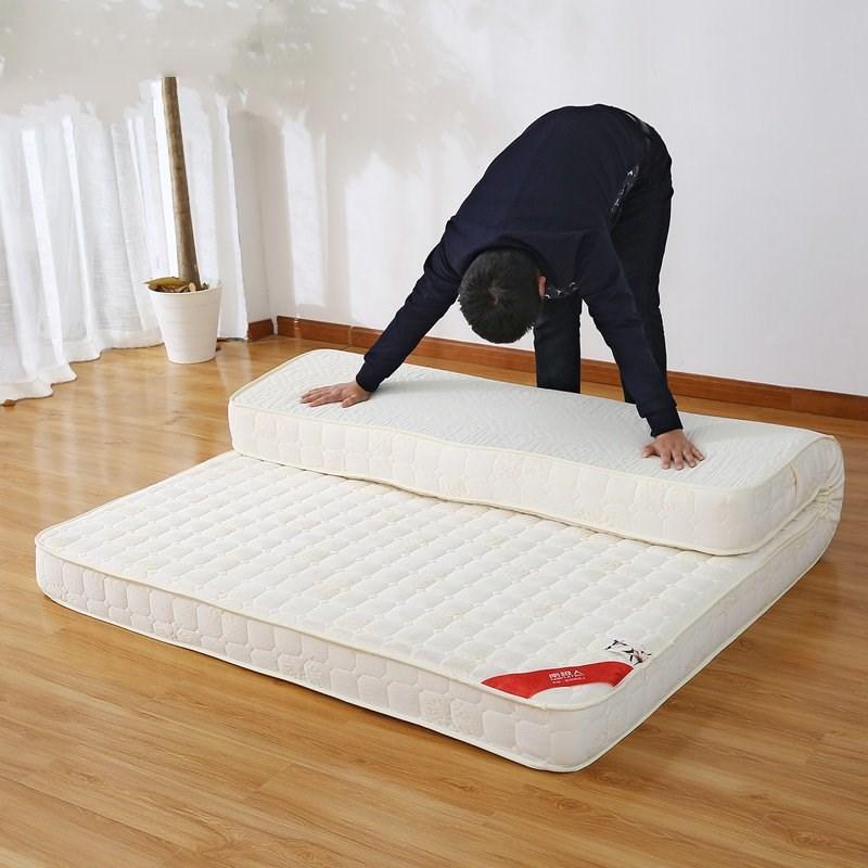 加厚床垫1.5m1.8m床学生宿舍单人1.2米榻榻米软垫床褥子海绵垫被限3000张券