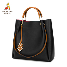Scarecrow Bag and Handbag 2019 New Women's Fashion Autumn and Winter Large Capacity Mother's Single Shoulder Bag