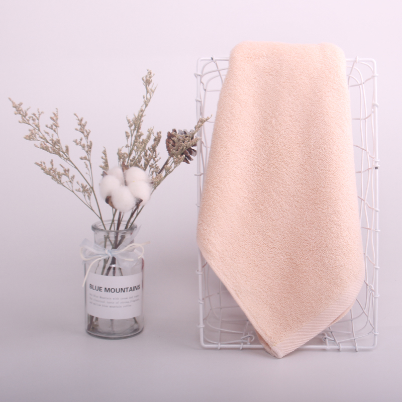 玉沙纯棉素色大毛巾家用运动毛巾