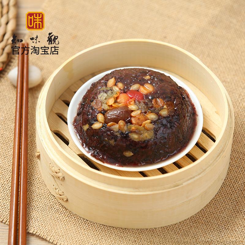 Знать вкус часы кровь клейкий рис восемь сокровище рис пар клейкий рис 300g весна фестиваль год товары ханчжоу специальный свойство еда вакуум пакет скорость еда