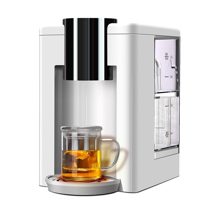 美庄臣净水器家用直饮超滤净水机即热自来水过滤器加热一体饮水机