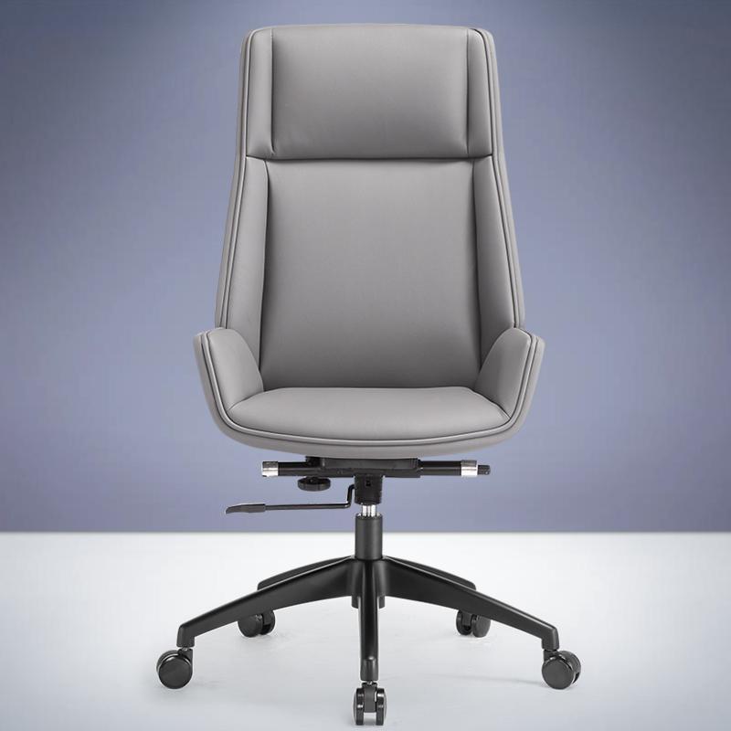 Сводка в настоящее время поколение высокая Задний компьютерный стул для отдыха Приемная кожаный Переговорный стул домой