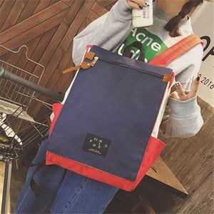 大容量帆布雙肩包女日韓版學院風校園書包男學生背包電腦包15.6寸